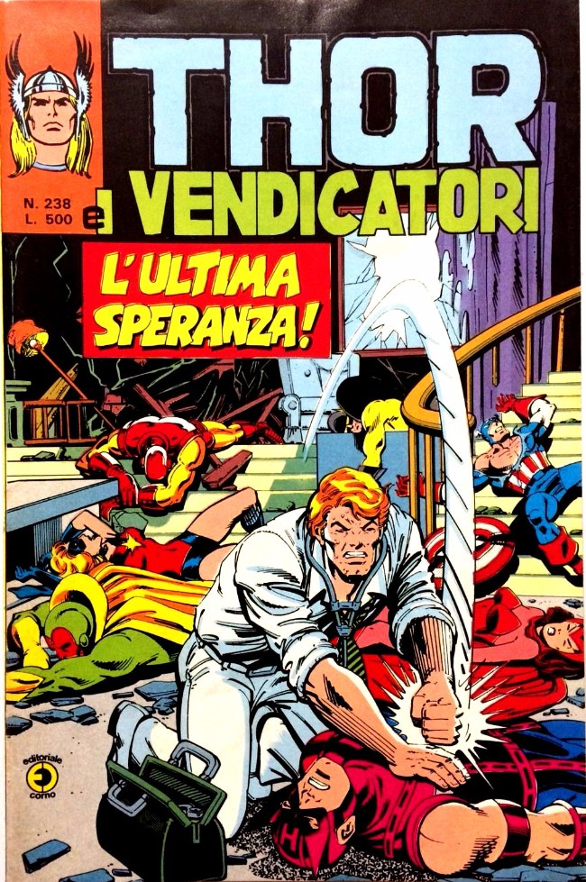 Couverture de MiticoThor (Il) -238- L'ultima speranza !
