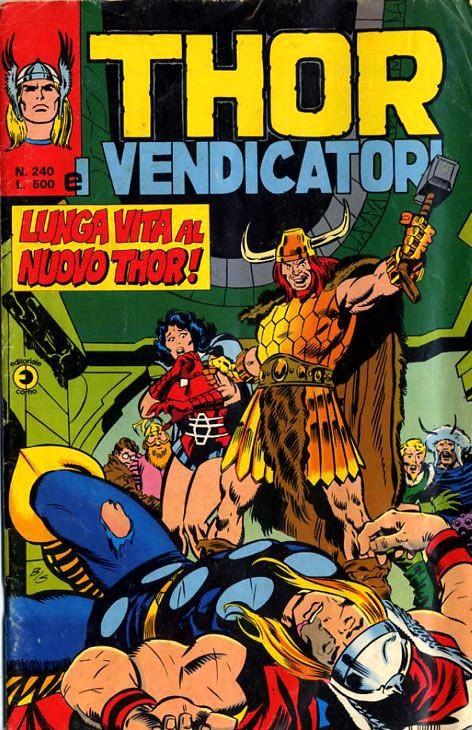 Couverture de MiticoThor (Il) -240- Lunga Vita al nuovo Thor !