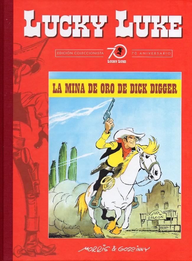 Couverture de Lucky Luke (Edición Coleccionista 70 Aniversario) -41- La mina de oro de Dick Digger