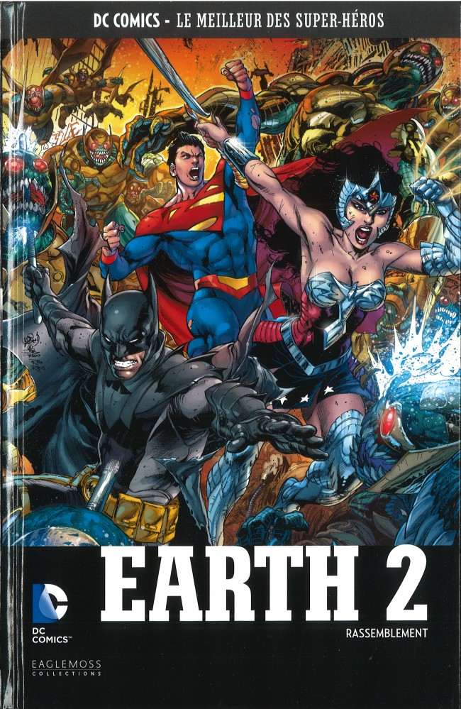 Couverture de DC Comics - Le Meilleur des Super-Héros -59- Earth 2 - Rassemblement