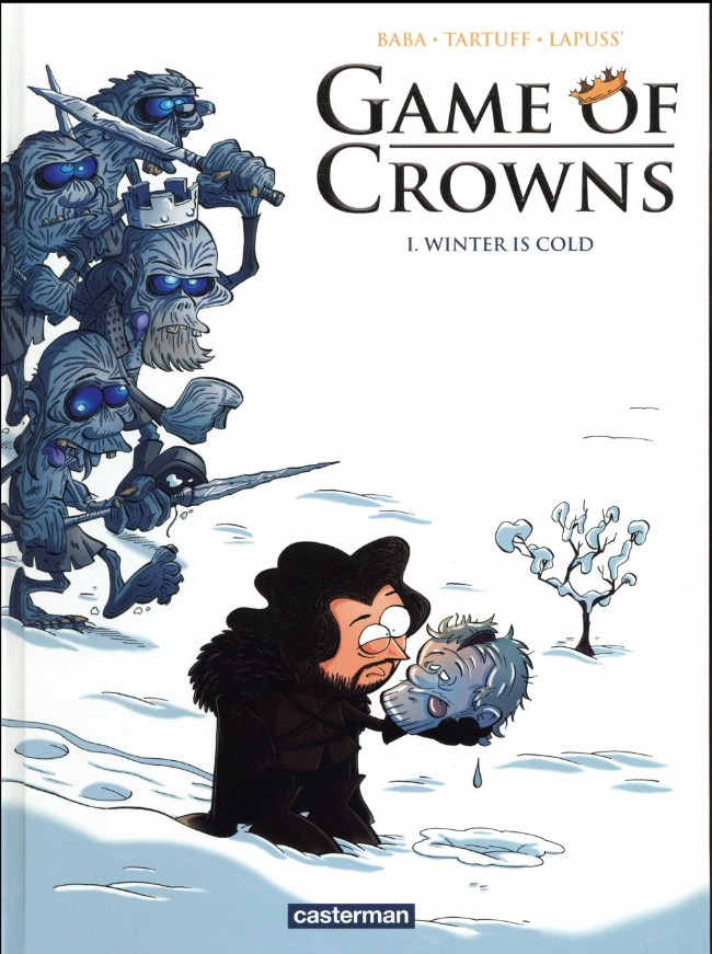 Couverture de Game of Crowns -1- Winter is cold