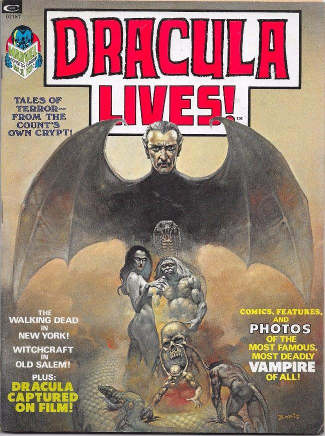 Couverture de Dracula lives! (1973) -1- (sans titre)