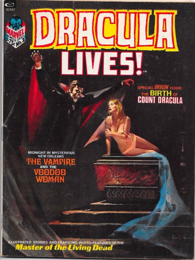 Couverture de Dracula lives! (1973) -2- The birth of count Dracula