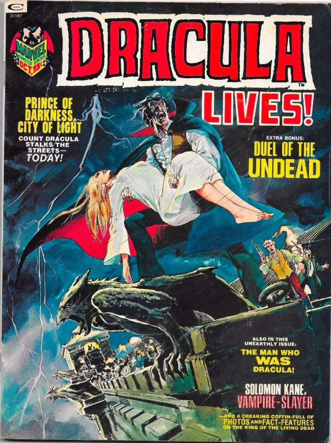 Couverture de Dracula lives! (1973) -3- Prince of darkness, city of light