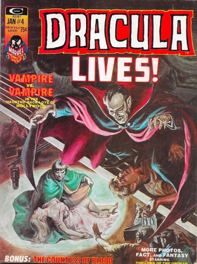 Couverture de Dracula lives! (1973) -4- Vampire vs Vampire