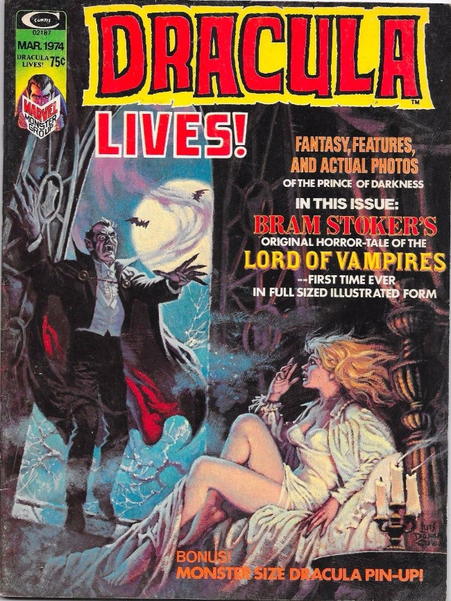 Couverture de Dracula lives! (1973) -5- Lord of vampires