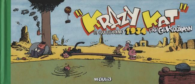 Couverture de Krazy Kat (Les Rêveurs) -5- Les quotidiennes 1934