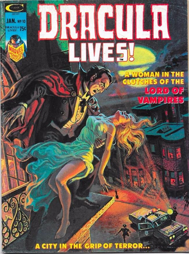 Couverture de Dracula lives! (1973) -10- (sans titre)