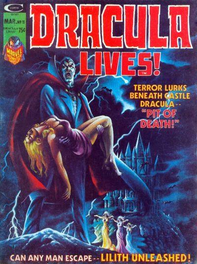 Couverture de Dracula lives! (1973) -11-