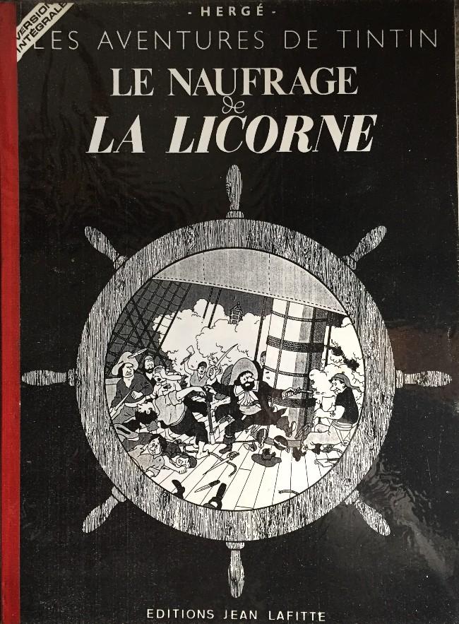 Couverture de Tintin - Pastiches, parodies & pirates - Le naufrage de la Licorne