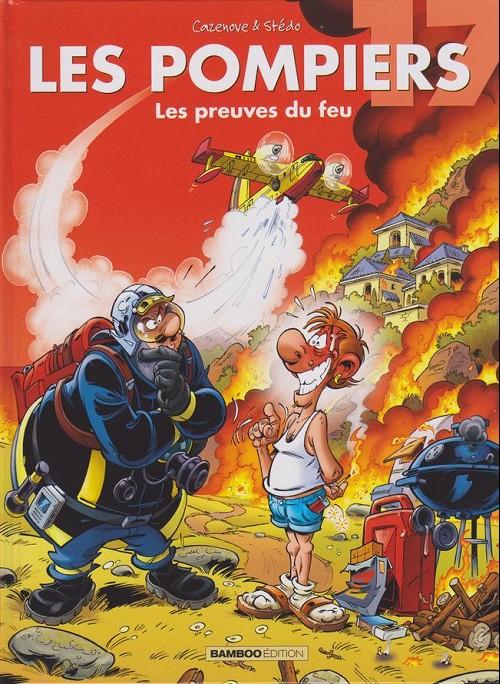 Couverture de Les pompiers -17- Les preuves du feu