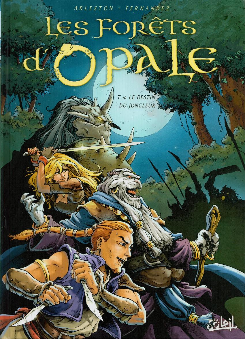 Couverture de Les forêts d'Opale -10- Le Destin du jongleur