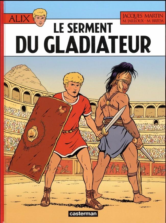 Couverture de Alix -36- Le Serment du gladiateur