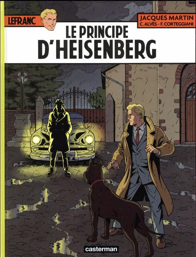 Couverture de Lefranc -28- Le Principe d'Heisenberg