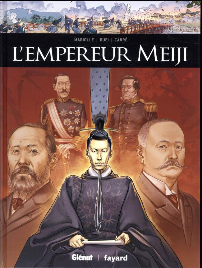 Couverture de Ils ont fait l'Histoire -24- L'empereur Meiji