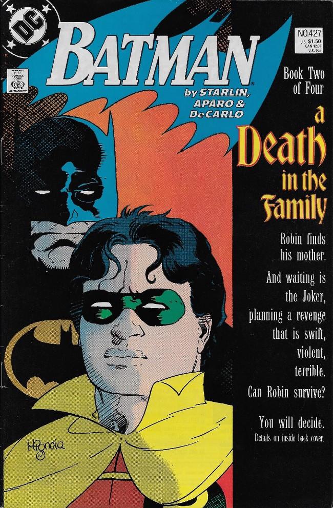 Couverture de Batman Vol.1 (DC Comics - 1940) -427- A Death in the Family Chapter 2
