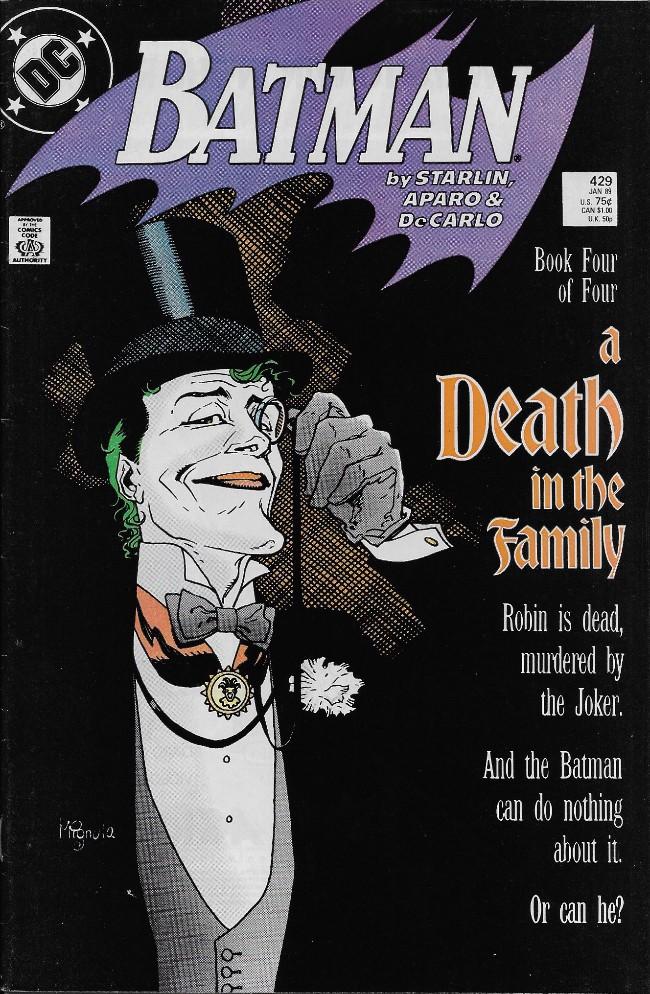 Couverture de Batman (1940) -429- A Death in the Family Chapter 4
