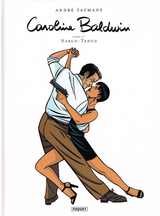 Couverture de Caroline Baldwin -17- Narco-Tango