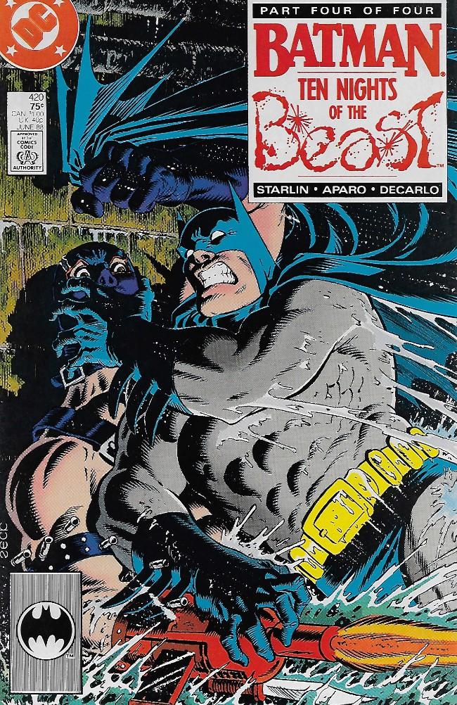 Couverture de Batman Vol.1 (DC Comics - 1940) -420- Ten Nights of The Beast, part 4