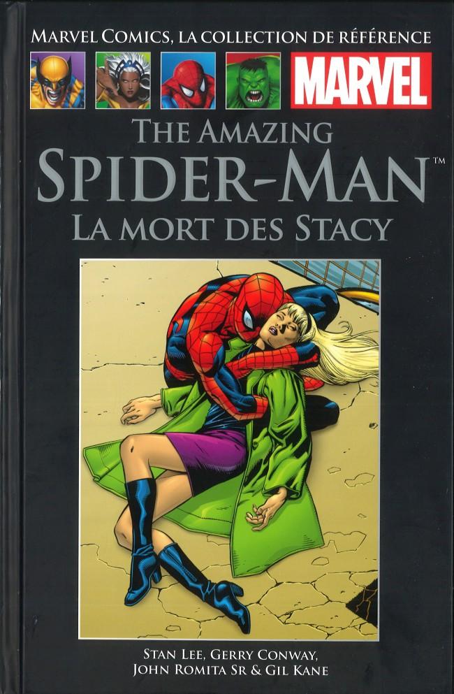 Couverture de Marvel Comics - La collection (Hachette) -98XVII- The Amazing Spider-Man - La Mort des Stacy