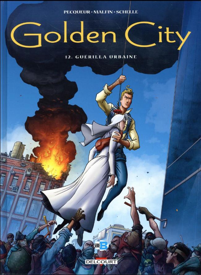 Couverture de Golden City -12- Guérilla urbaine