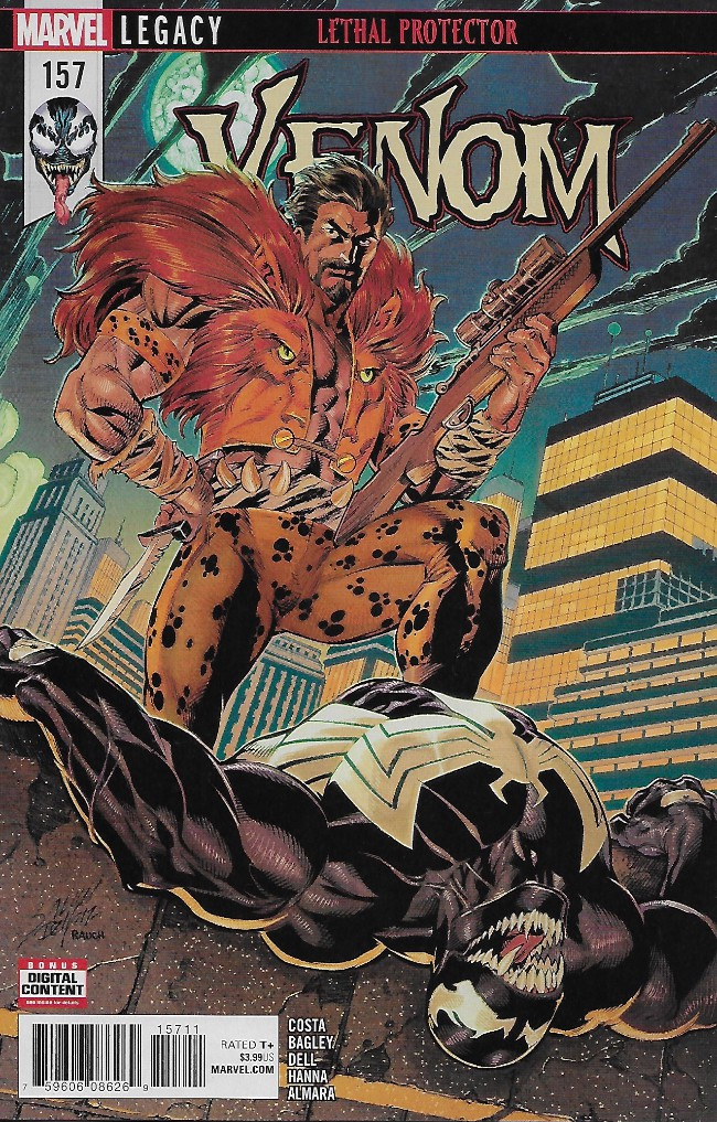 Couverture de Venom Vol. 3 (Marvel comics - 2017) -157- Venom #157