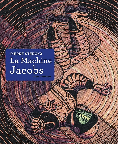 Couverture de (AUT) Jacobs, Edgar P. -39- La machine Jacobs