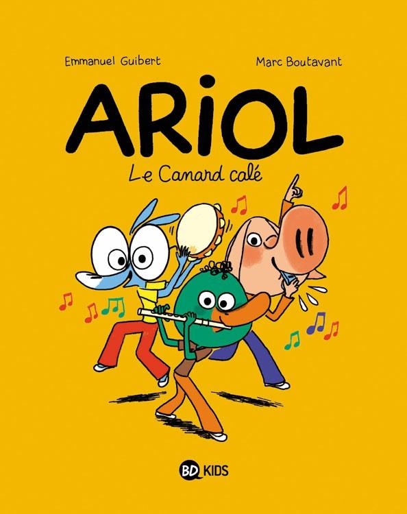 Couverture de Ariol (2e Série) -13- Le canard calé
