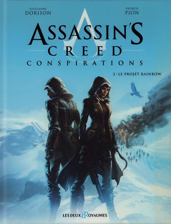 Couverture de Assassin's Creed - Conspirations -2- Le projet rainbow