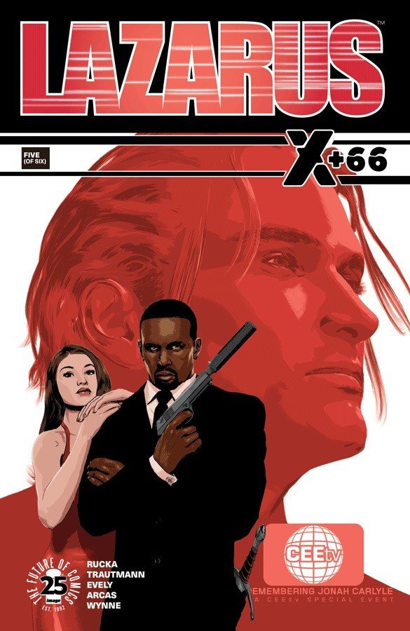 Couverture de Lazarus: X +66 (2017) -5-  Post-Fact