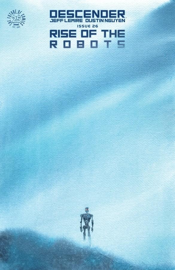 Couverture de Descender (2015) -26- Rise Of The Robots - 5 of 5