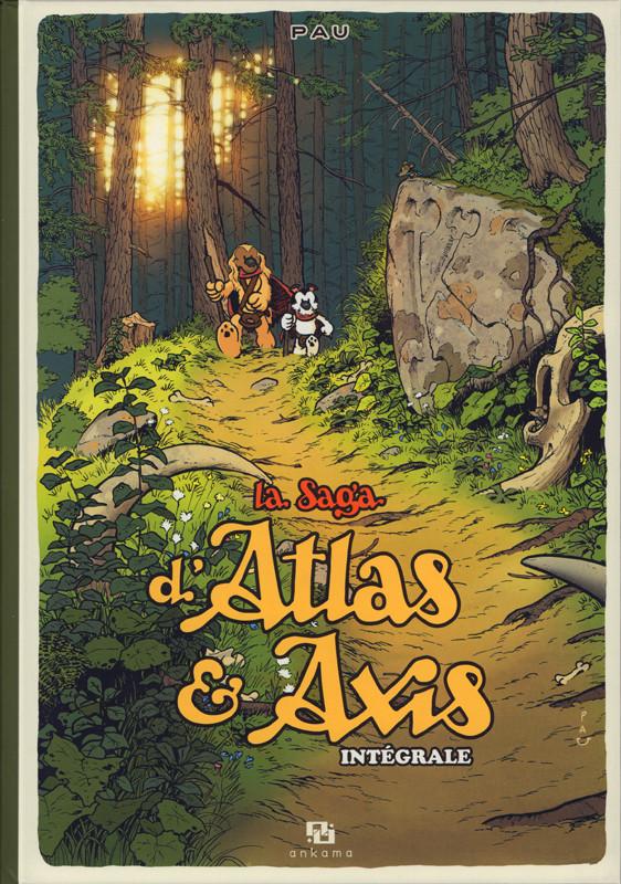 Couverture de La saga d'Atlas & Axis -INT- La Saga d'Atlas & Axis