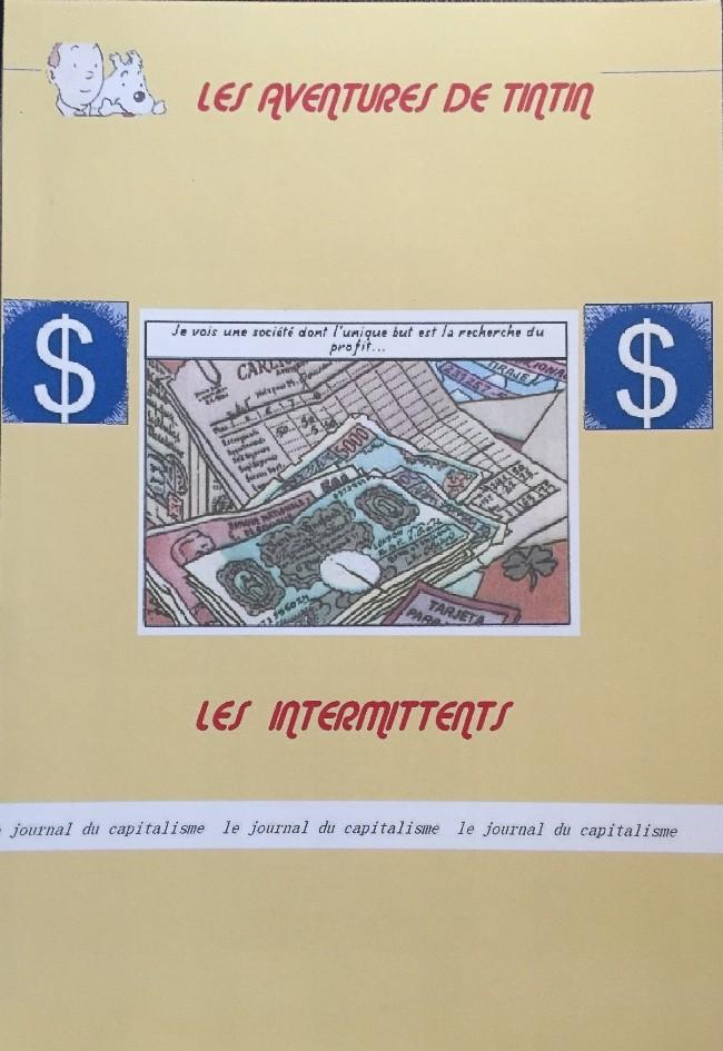 Couverture de Tintin - Pastiches, parodies & pirates - Les Intermittents