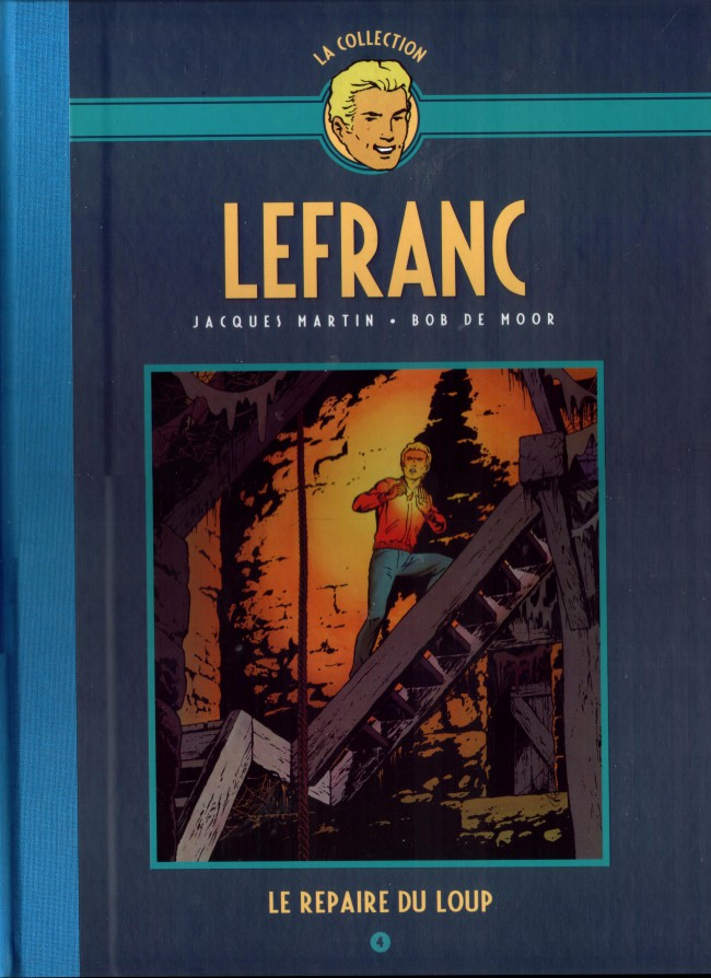Couverture de Lefranc - La Collection (Hachette) -4- Le repaire du loup