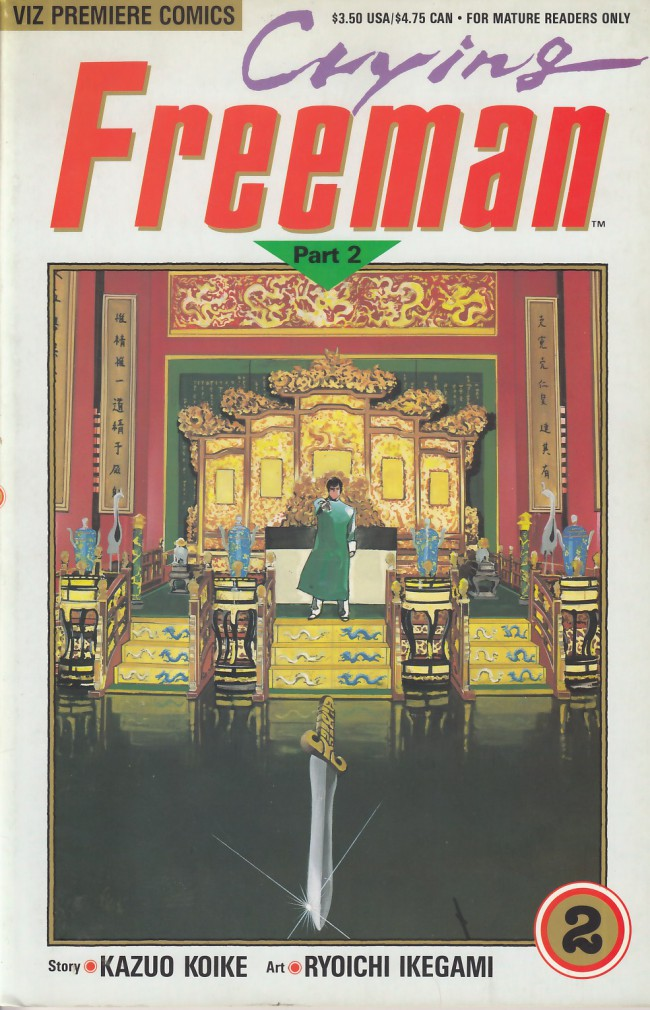 Couverture de Crying Freeman (1990) - Part 2 -2- Chapter 3: The Tiger Orchid, Parts 4-7