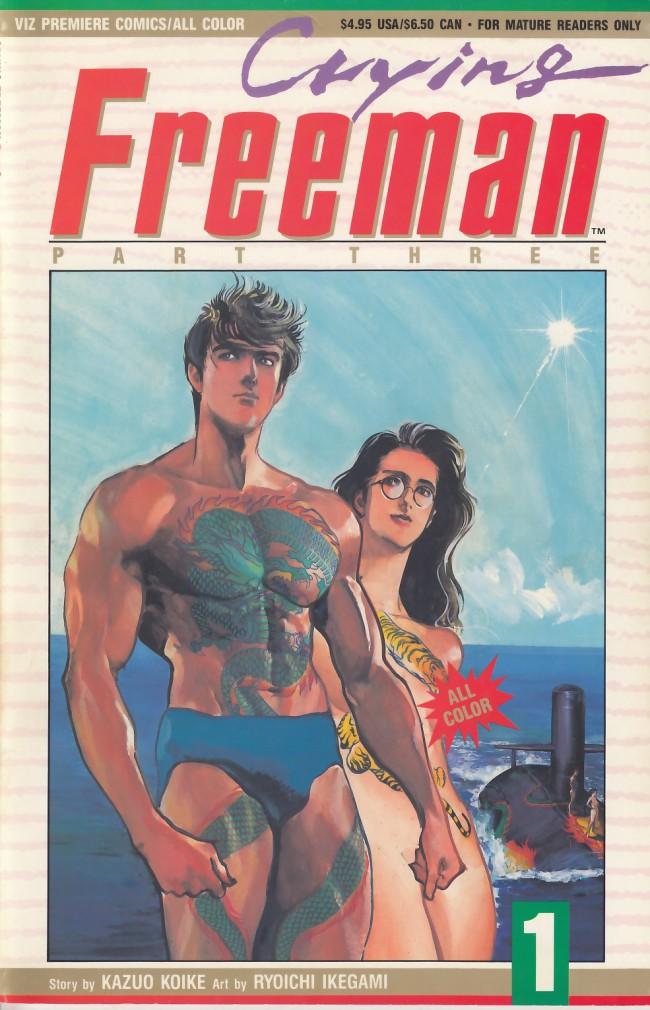 Couverture de Crying Freeman (1991) - Part 3 -1- Chapter 9: Tohgoku Oshu, Parts 1 & 2