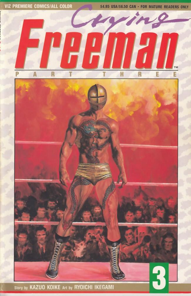 Couverture de Crying Freeman (1991) - Part 3 -3- Chapter 9: Tohgoku Oshu, Parts 5 & 6