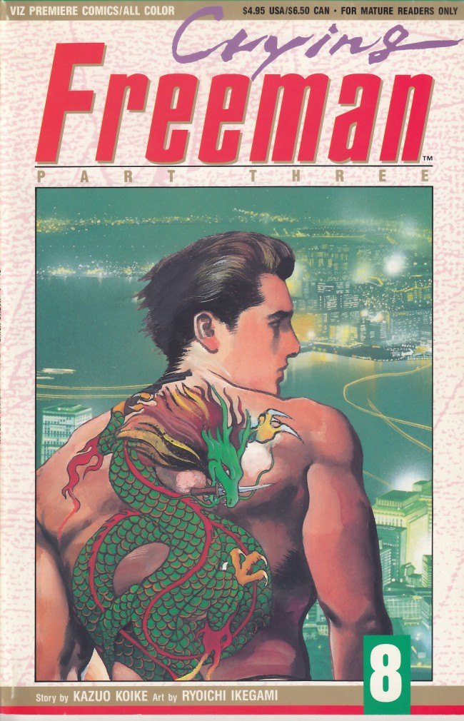 Couverture de Crying Freeman (1991) - Part 3 -8- Chapter 10: Nothing Ventured, Nothing Gained, Parts 1 & 2