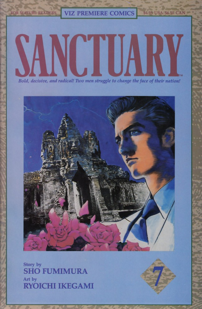 Couverture de Sanctuary (1992) -7- Chapter 19: Refugees/Chapter 20: Cambodia/Chapter 21: Conquest