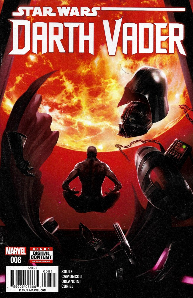 Couverture de Darth Vader (2017) -8- The Dying Light Part II