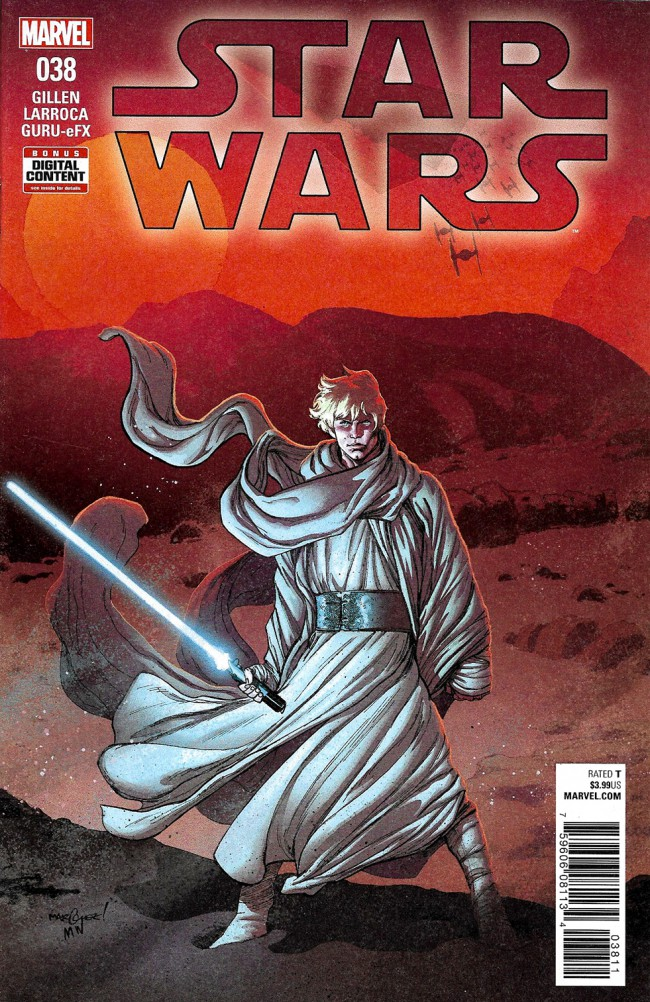 Couverture de Star Wars (2015) -38- The Ashes Of Jedha Part I