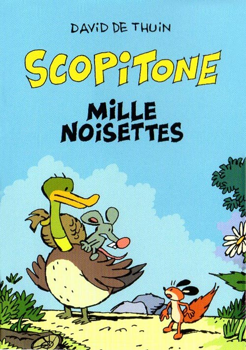 Couverture de Mini-récits et stripbooks Spirou -MR4153- Scopitone, mille noisettes