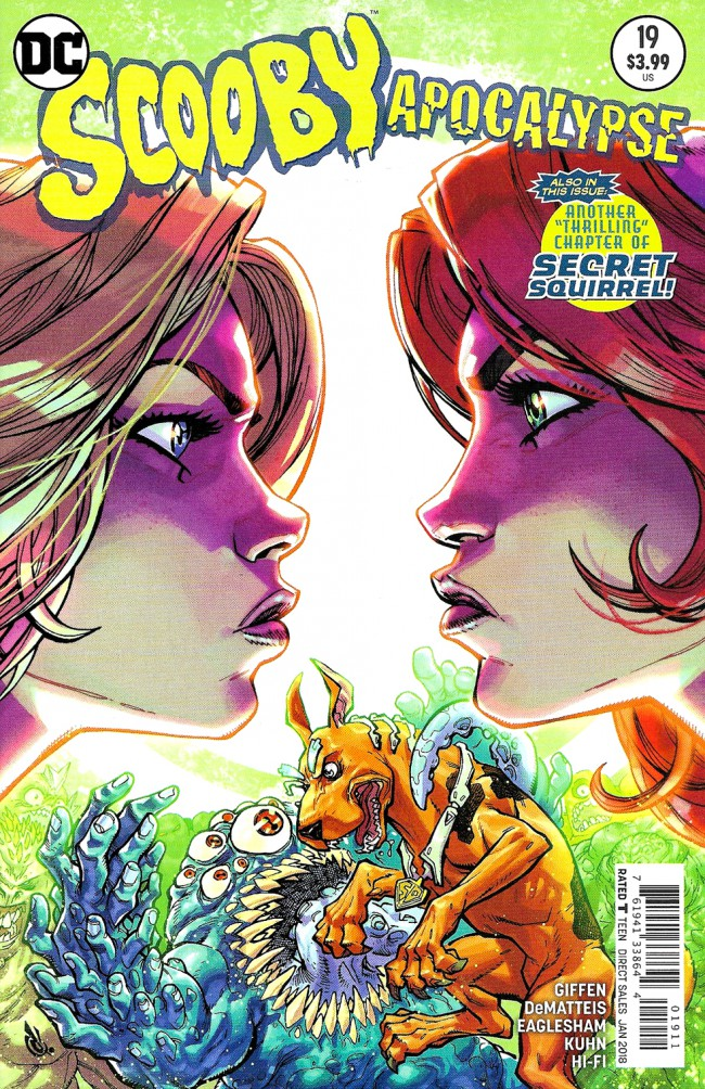 Couverture de Scooby Apocalypse (2016) -19- Child's Play !