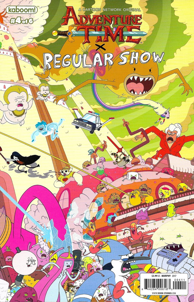 Couverture de Adventure Time x Regular Show -4B- Adventure time x Regular Show Part 4 Of 6
