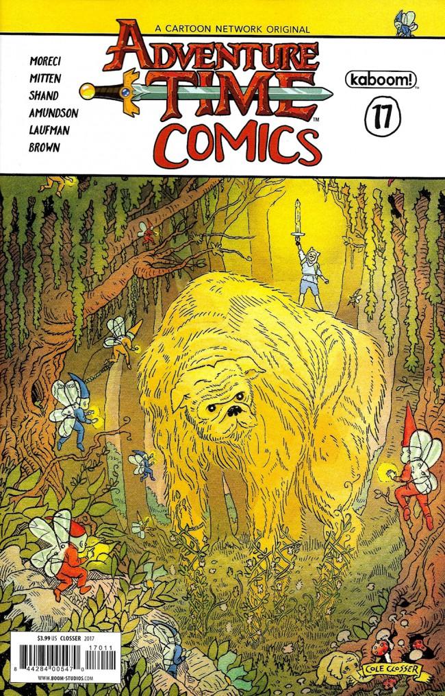 Couverture de Adventure Time Comics (2016) -17- Adventure Time Comics