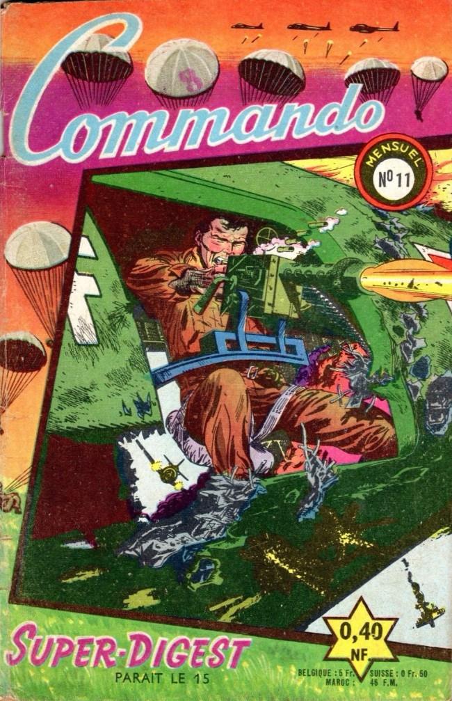 Couverture de Commando (1re série - Artima) -11- Le gardien du porte-avions