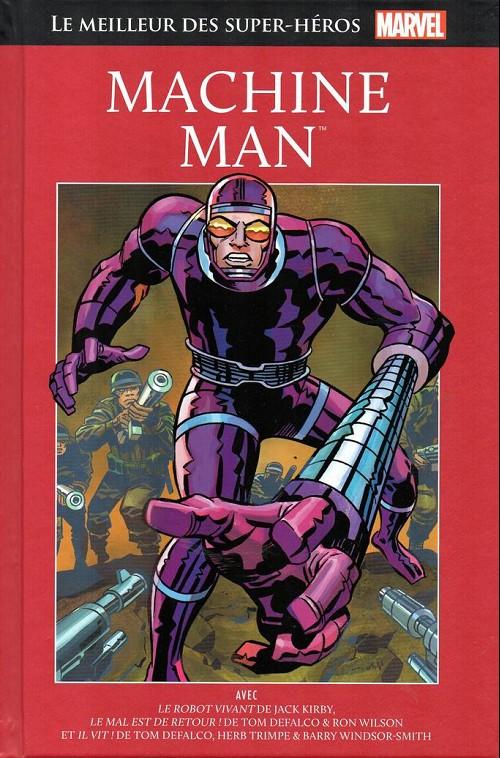 Couverture de Marvel Comics : Le meilleur des Super-Héros - La collection (Hachette) -48- Machine man