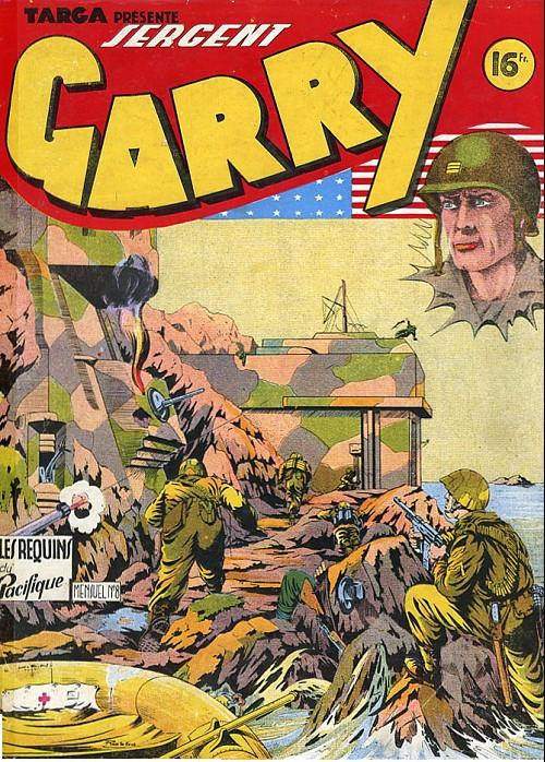 Couverture de Garry -8- Les requins du pacifique