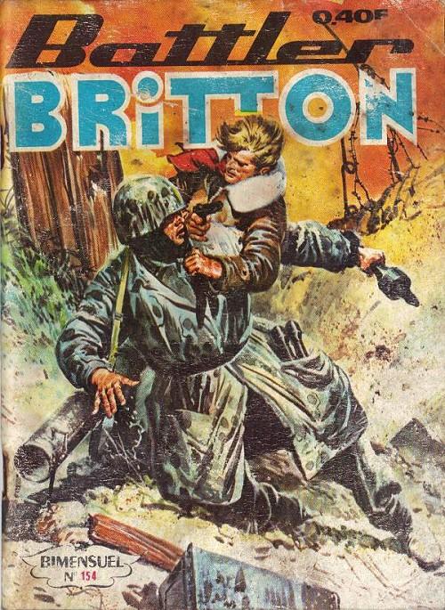 Couverture de Battler Britton -154- Plans secrets - vertiges - le nid des vipères
