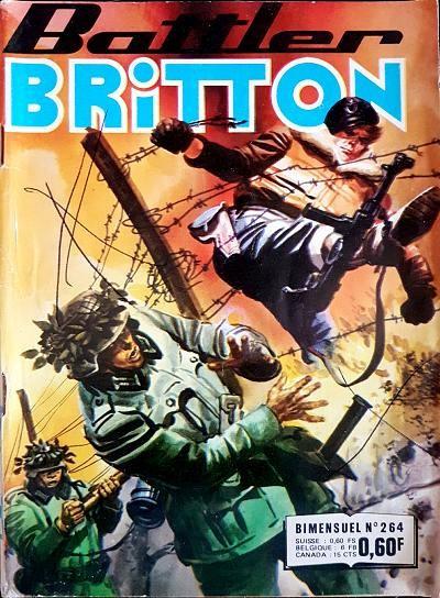 Couverture de Battler Britton -264- L'insolent second